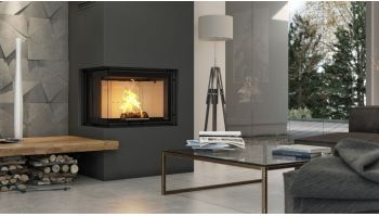 Corner fireplaces - DEFRO a leader!